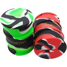 Large Barrel Skull Silicone Wax Oil Concentrate Containers