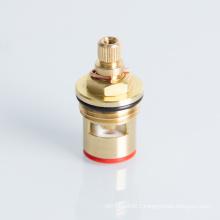 Faucet quick open brass ceramic disc cartridge