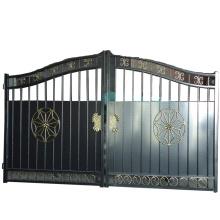 Pequeña puerta de hierro de diseño nuevo con catálogo