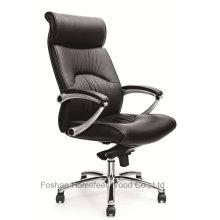 Chaise de bureau pivotante en cuir pivotante pour directeur général (HF-CH011A)