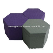 2014 China Handmade Watch Gift Box, Made of Gray Board and Fancy Paper, Customized Sizes, Logos
