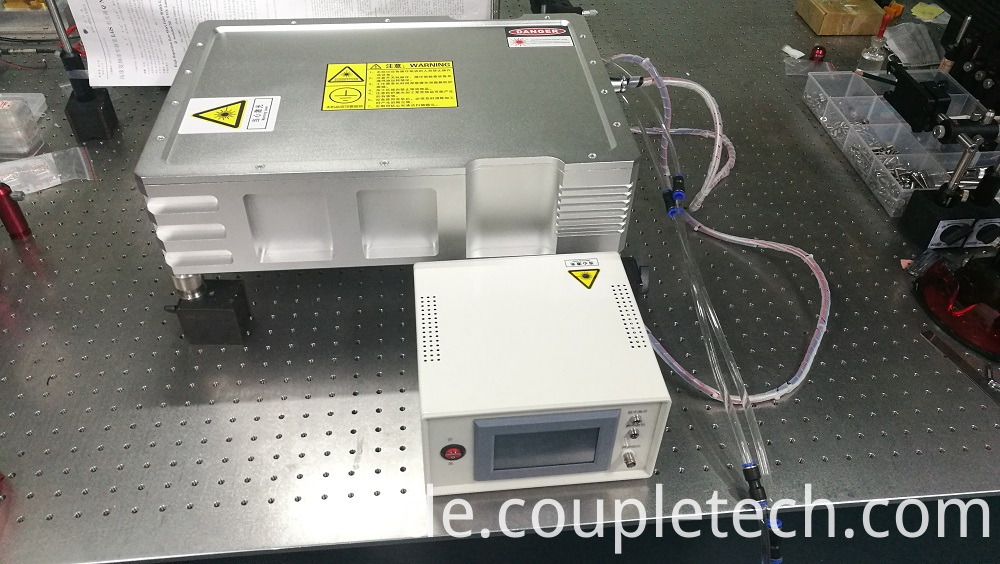 Diode pumped pulsed laser output wavelength 266nm