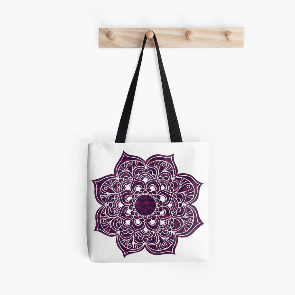 The canvas transport top tote handle bag