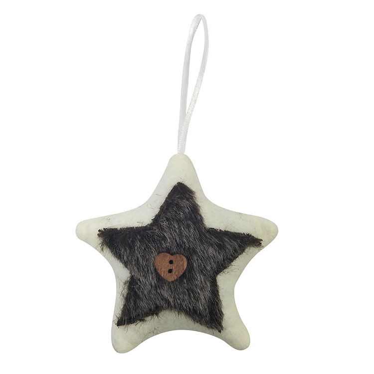 Christmas Tree Star Shape Ornaments 01