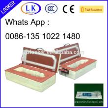 PVC-Blister + Papierkarten-Siegelform