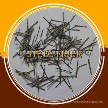 Gute Qualitäts-konkrete Schmelze extrahierte Edelstahl-Faser für metallurgisches / petrochemisches / mechanisches / Tonwaren