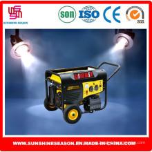 Генератор Бензиновый 5кВт для дома и наружного использования (SP12000E2)