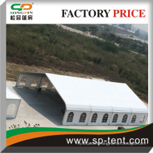 special design wedding event tent sidewall with white pvc or transparent windows