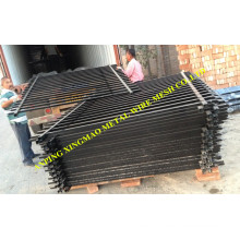 2000mmx2400mm Australia Black Colour Security Fence/Pool Fencing (XMS03)