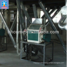 60+ years experience 50tpd popular maize mill machine/plant