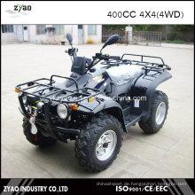 400cc Dirt Quad 4X4 ATV mit Winde