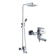 G045 sanitary bathroom rain rain shower set , high quality faucet , shower set bathroom mixer faucet