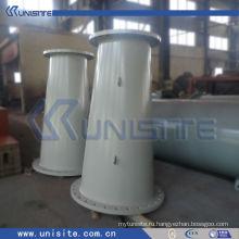 Толстая износостойкая сталь для дноуглубительных работ (USC-7-004)
