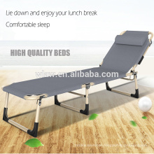 High quality portable siesta folding beds leisure and camping bed