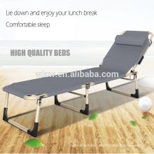 Alta qualidade portátil siesta camas de lazer e cama de camping