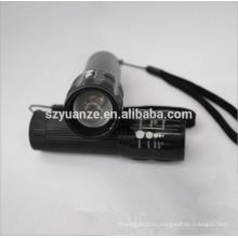 Светодиодный фонарик производителей, светодиодный фонарик для велосипедов, zoom dimmer led flashlight