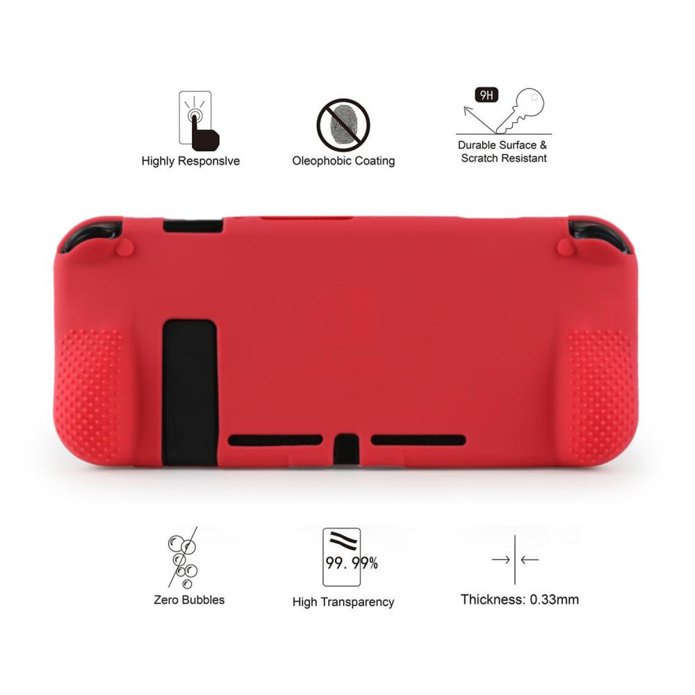 back silicone cover for switch