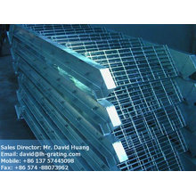 galvanized staircase, galvanized stair grating, galv grating stair