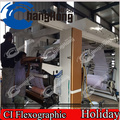 Máquina de impressão de filme retráctil de PVC (Central Drum)