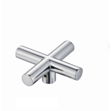 Factory standard zinc hand wheel mixer cross design faucet handwheel