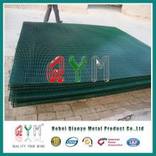 Valla de alta seguridad recubierta de PVC