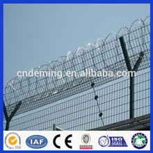 DM cheap high quality pe coated high security airport security fence