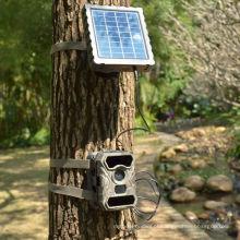 Câmera a pilhas sem fio impermeável exterior do painel solar de visão nocturna 3G