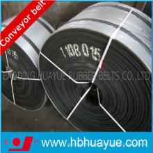 Bandes transporteuses ignifuges de PVC / Pvg de noyau entier résistant à la corrosion