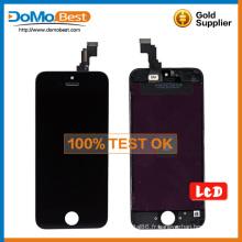 Montage d'usine gros LCD écran numériseur, écran lcd tactile pour iPhone 5 C lcd
