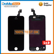 Фабрика оптом LCD экран дигитайзер Ассамблеи, lcd сенсорный для iPhone 5 C lcd
