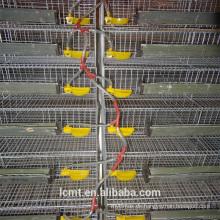 Geschweißter vertikaler verschlüsselter Geflügelwachtelkäfig elektrisch