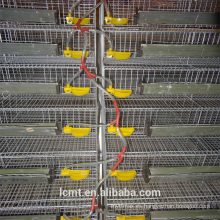 Cajas de codornices de aves de corral codificadas verticales soldadas eléctricas