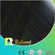 Commercial 12.3mm E1 Mirror Walnut Waterproof Laminated Flooring