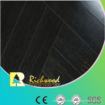 Kommerzieller 12,3mm E1 Spiegel Walnut Waterproof Laminated Flooring