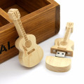 Gift Wood Guitar USB flash Drive with Case