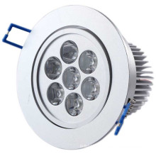 Cool / Weiß / Warm7w LED Deckenleuchte COB LED Downlight