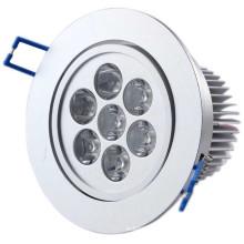Fresco / branco / Warm7w LED luz de teto COB LED Downlight
