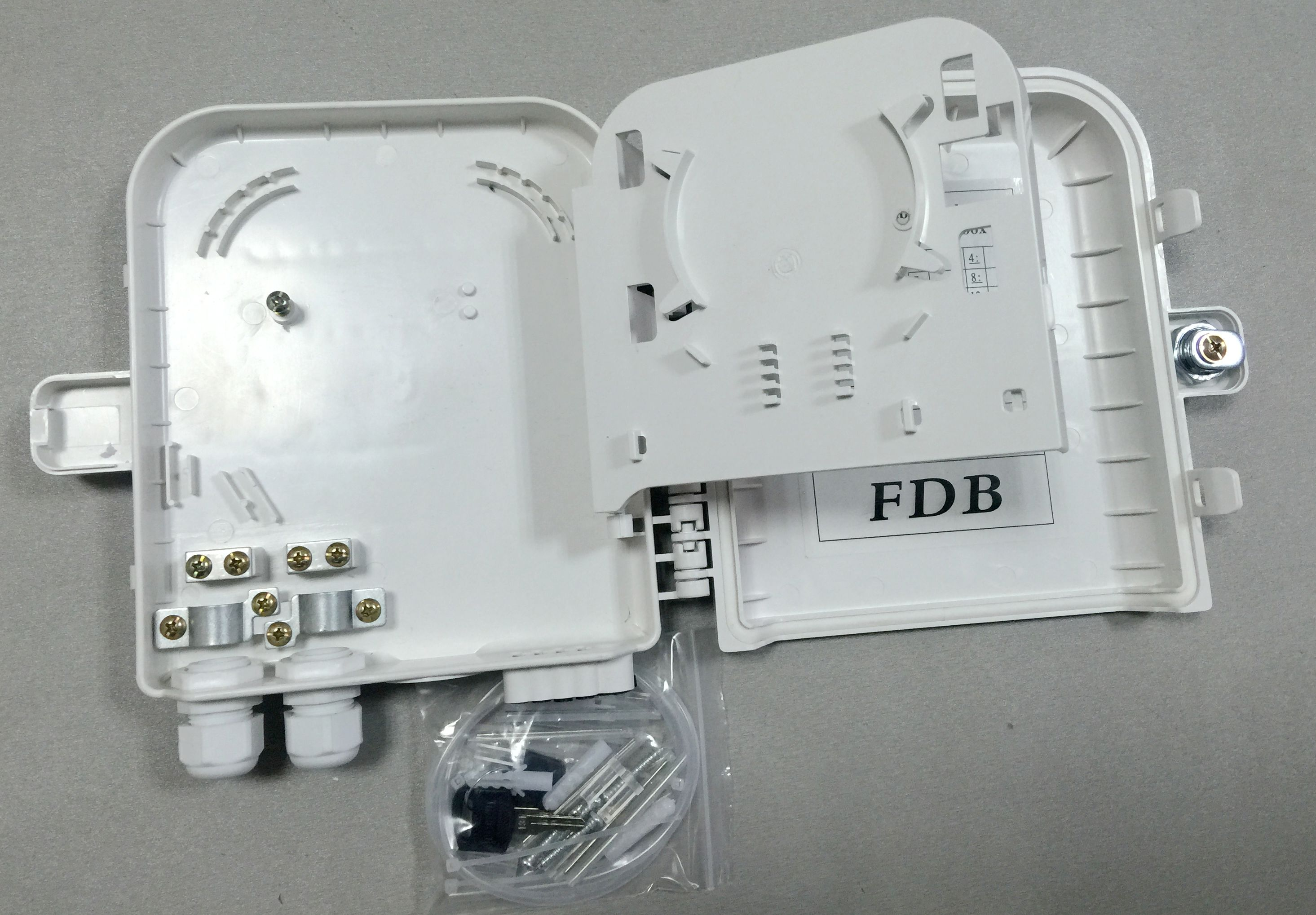 8 Ports Outdoor Plc Splitter Box