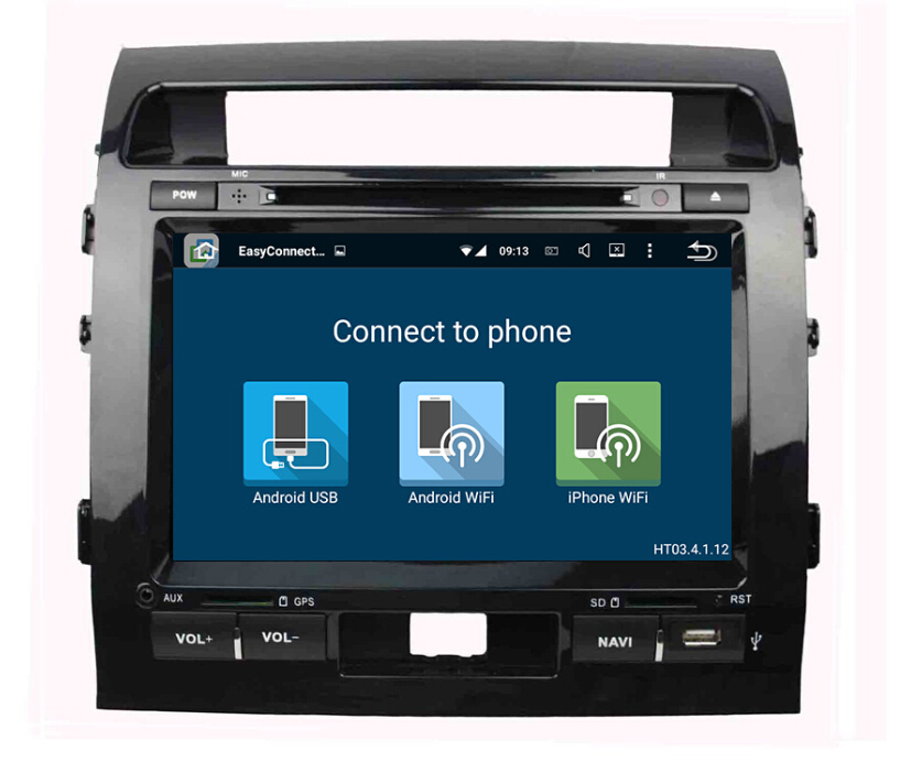 Land Cruiser 2008-2012 car dvd player
