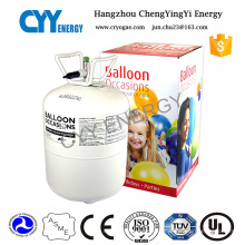 30L Portable Stainless Steel Helium Gas Cylinder