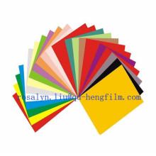 Filme de PVC rígido impresso para base de cartão