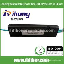 Fibra óptica do divisor da fibra óptica de 1 * 2 multimodo OM3 / OM4 FBT da alta qualidade Pacote