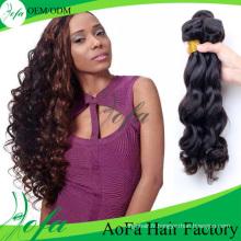 Extension de cheveux humains vague de corps 100% non transformés gros cheveux brésiliens de vierge