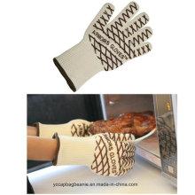 Перчатки из микроволокна с силиконовым арамидным волокном
