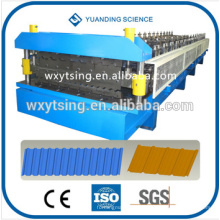Pass CE and ISO YTSING-YD-0610 Automatic Control Double Layer Roll Forming Machine