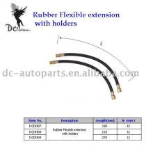 Tire Valve Extension & Rubber Flexible Extension