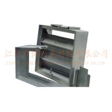 1.2mm Galvanized Steel Vane Damper Molding Machine Supplier Saudi Arabia