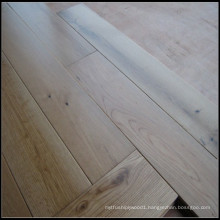 UV Lacquer Natural Solid White Oak Hardwood Flooring