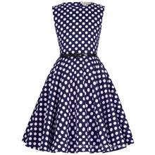 Kate Kasin Vintage Retro Cotton Floral Pattern Girls Vintage Dress Kids 'Audrey' Vintage Divinity 50s Dress KK000250-12