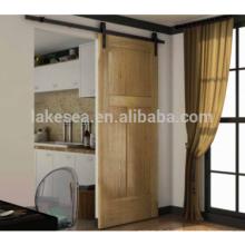Sistema de la puerta de granero de madera del granero de madera del estilo del estilo de América